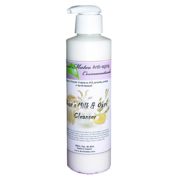 Pore Minimizing Goat S Milk Oats Cleanser